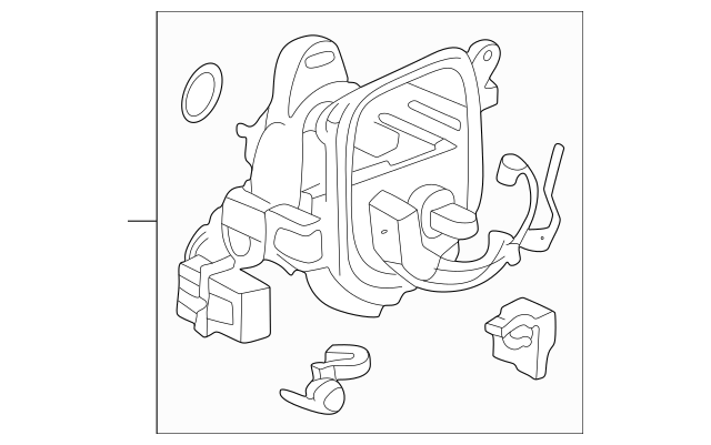 1996-2001 Acura Housing, Distributor (Tec) 30105-P75-A01
