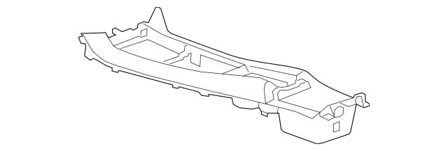 2010-2015 Chevrolet Camaro Center Console 92247007