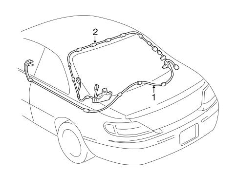 Genuine OEM ANTENNA & RADIO Parts for 1999 Toyota Solara