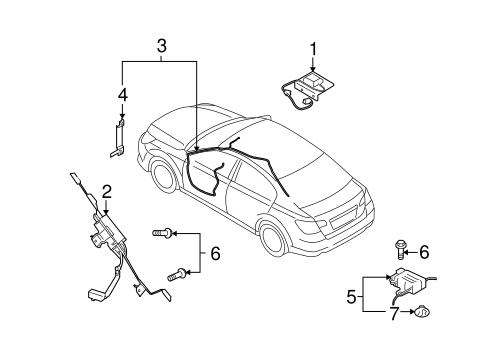 2010 Subaru Legacy Fuel Filter