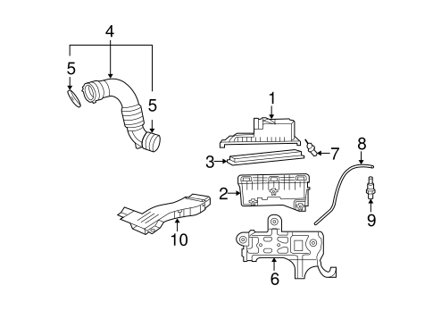 2008 Dodge Grand Caravan Undercarriage Parts Diagram