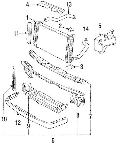 Service manual [1993 Oldsmobile 98 Heater Hose Removal