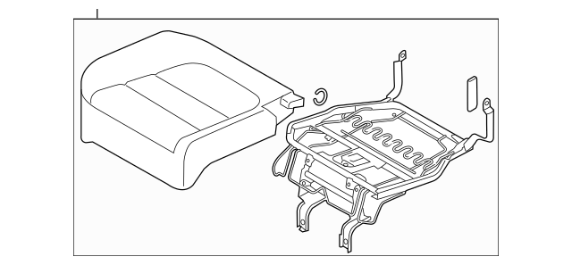 2013-2016 Mazda CX-5 Seat Cushion Pad KD45-88-162