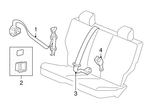 2012 Jeep Liberty Seat Parts Diagram. Seat. Auto Parts