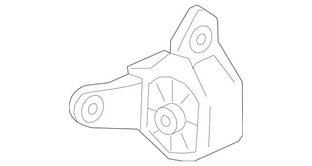 Honda Rubber Assembly, Transmission Mounting (50850-TK8