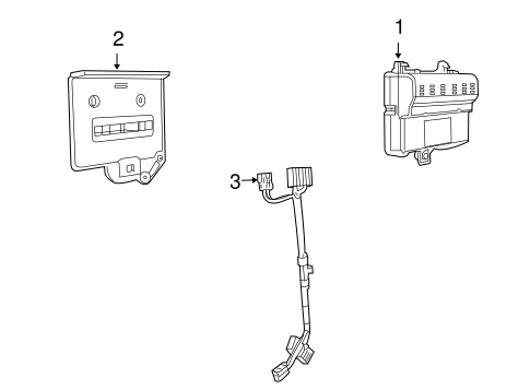 COMMUNICATION SYSTEM COMPONENTS for 2009 Pontiac G8