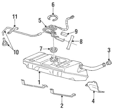 Fuel System Components for 1994 Pontiac Firebird