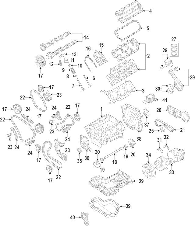 2013-2016 Volkswagen Touareg Crankshaft 059-105-101-BH