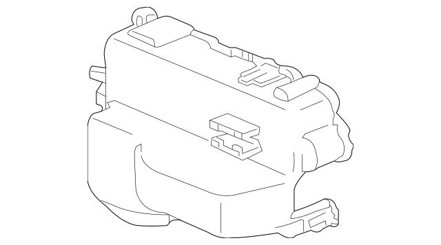 Genuine OEM 2009-2014 Honda RIDGELINE SEDAN Cover, Engine