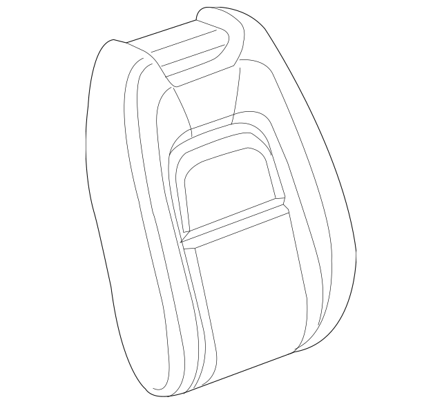 2016-2020 Chevrolet Colorado Seat Back Cover 84261135