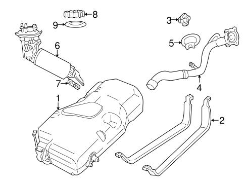 Fuel System Components for 2007 Chrysler PT Cruiser