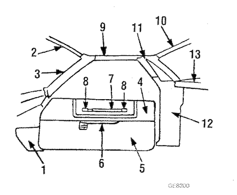 OEM INTERIOR TRIM for 1986 Chevrolet El Camino
