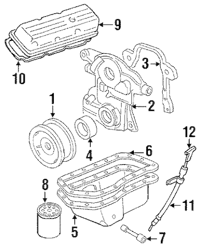 Oldsmobile Intrigue 2000 Diagram Timing Chain Diagram For 2000