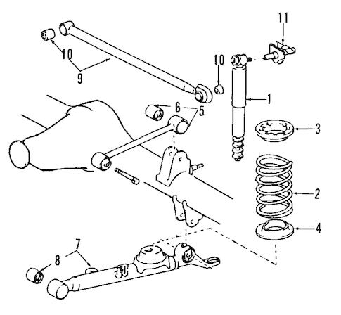 Engine Diagram For Mazda Cx 9 Chrysler Town & Country