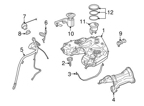 Emission Components for 2009 Mercedes-Benz GL 320