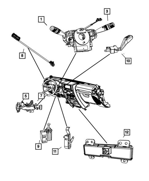 Jeep Wrangler Clutch Interlock Switch