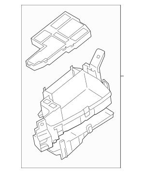 2014-2016 Mazda 6 Fuse & Relay Box GHP9-66-760