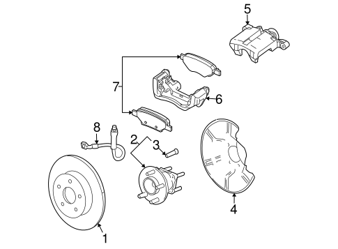 Chevrolet Uplander Front Suspension, Chevrolet, Free