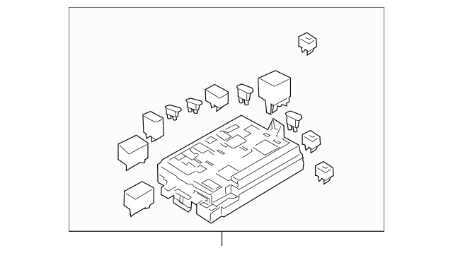 Genuine OEM Fuse Box Part# 91951-1F220 Fits 2005-2010 Kia