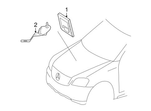 Ride Control Components for 2007 Mercedes-Benz GL 450