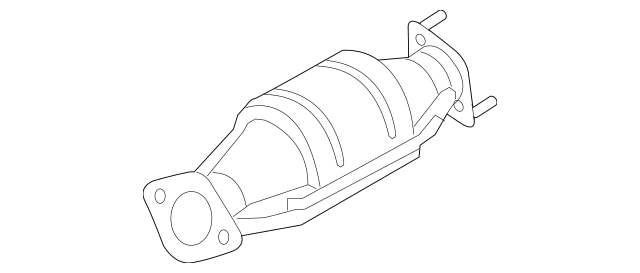 2011-2013 Kia Sorento Catalytic Converter 28950-2G450