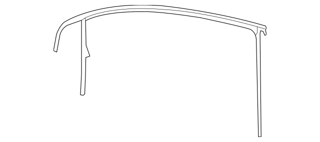 Volkswagen Window Guide (1K3-837-432-D-5AP) For Sale