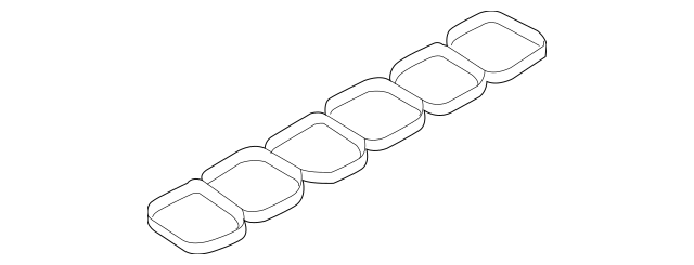 Manifold Gasket for 2014 Ford Edge|AT4Z-9H486-A : Quirk