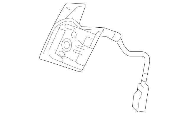 Switch Assembly, L Paddle Shift *NH167L* (Graphite Black