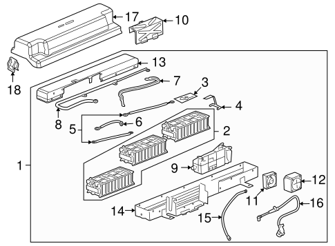 ELECTRICAL COMPONENTS for 2009 Chevrolet Malibu