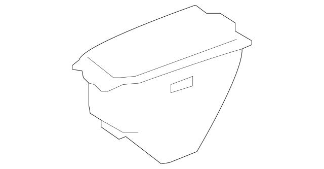 2008-2012 Mercedes-Benz Compartment Box 164-680-13-91-9D53
