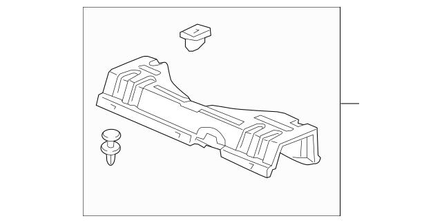 2012-2014 Honda INSIGHT Cover Assembly, Ipu Duct *NH686L