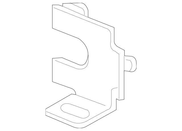 2011-2012 Acura RL SEDAN Clip, Back Sensor 39691-TC0-003