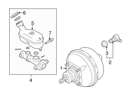 OEM 2006 Saturn Relay Hydraulic System Parts