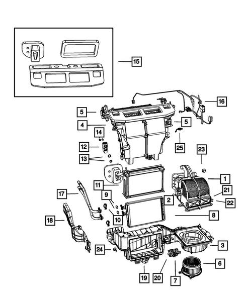 Air Conditioner and Heater Units for 2010 Dodge Grand