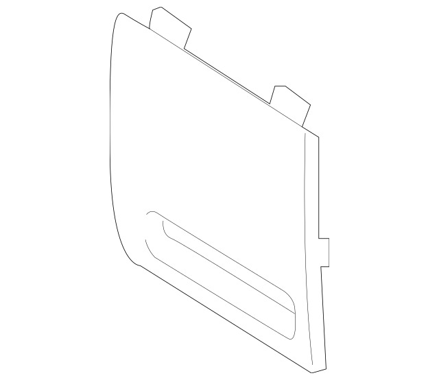 2018-2019 Hyundai Sonata Fuse Box Cover 84753-C2AA0-TGG