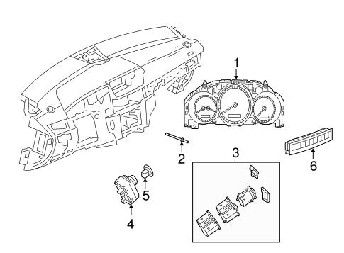 Instruments & Gauges for 2013 Mercedes-Benz C 250