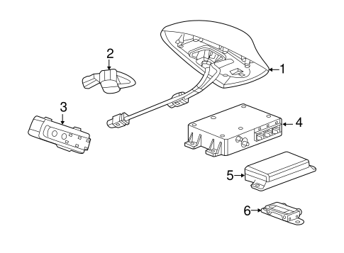 OEM Communication System Components for 2015 Chevrolet