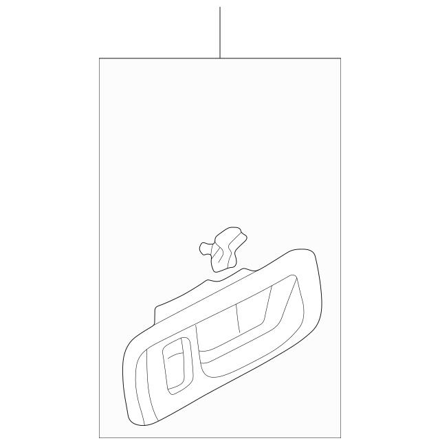 1996-2003 Acura RL SEDAN Case Set, L Front Inside *YR164L
