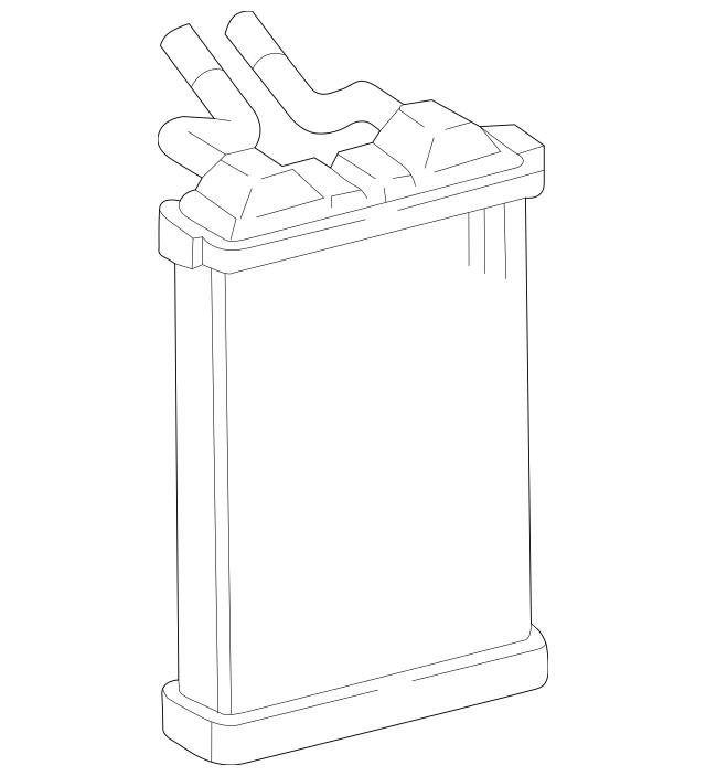 Genuine OEM Heater Core Part# 87107-04030 Fits 1995-2001