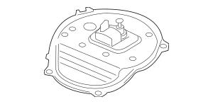 2012-2015 Honda CIVIC NGV SEDAN Plate, Fuel Joint 17542