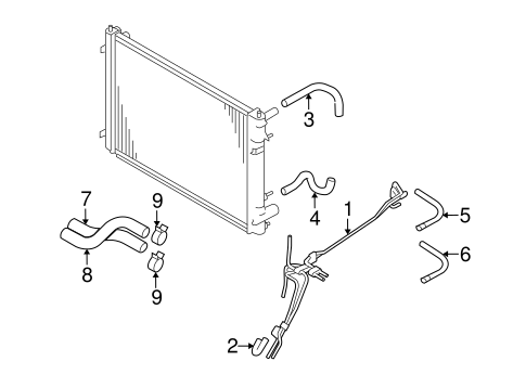 Service manual [Transmission Cooler Line 2009 Subaru