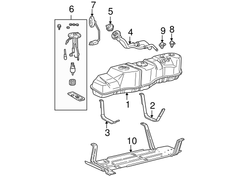 Fuel System Components for 2000 Ford F-150