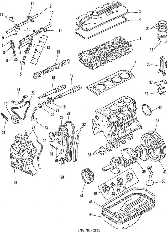Genuine OEM Intake Valve Part# MD083848 Fits 1985-1989