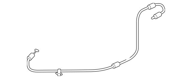 2009-2015 Honda PILOT 5-DOOR Cable, Fuel Lid Opener 74411