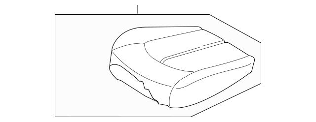 2016-2018 Kia Optima Cushion Assembly 88200-D5022H2S