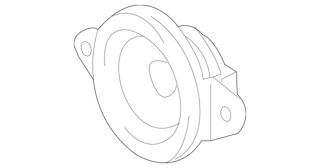 2013-2018 Toyota Avalon Inst Panel Speaker 86160-07060