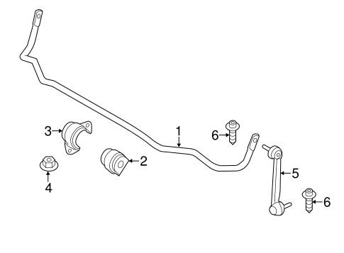 Stabilizer Bar & Components for 2017 BMW 330i xDrive