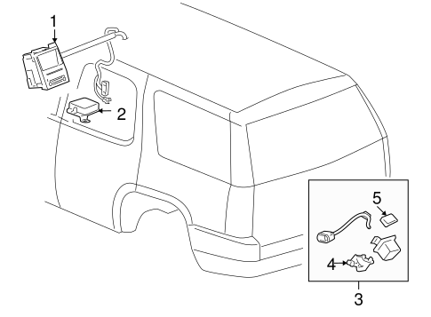 OEM Electrical Components for 2013 GMC Yukon
