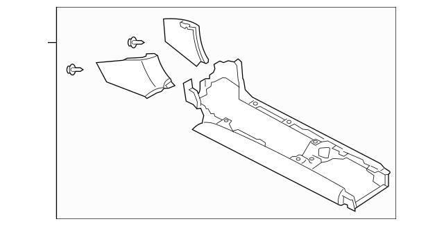 Mazda Console Assembly (F151-64-320E-02) For Sale