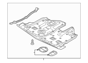 Buy this Genuine 2014-2015 Kia Sorento Under-Body Shield